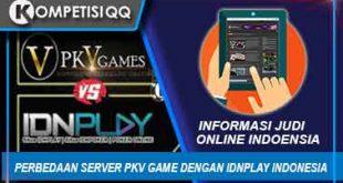 Perbedaan Server PKV Game Dengan IDNPLAY Indonesia