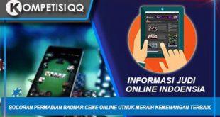 Bocoran Permainan Bandar Ceme Online Untuk Meraih Kemenangan Terbanyak