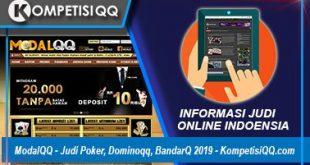 ModalQQ - Judi Poker, Dominoqq, BandarQ 2019 - KompetisiQQ