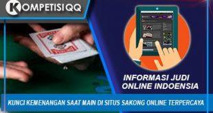 Kunci Kemenangan Saat Main di Situs Sakong Online Terpercaya