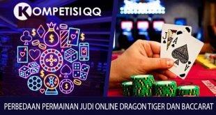 Perbedaan Permainan Judi Online Dragon Tiger Dan Baccarat