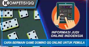 Cara Bermain Game Domino QQ Online Untuk Pemula