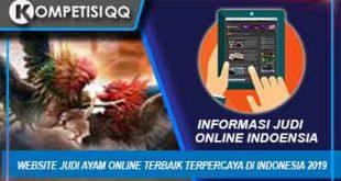 Website Judi Ayam Online Terbaik Terpercaya Di Indonesia 2019
