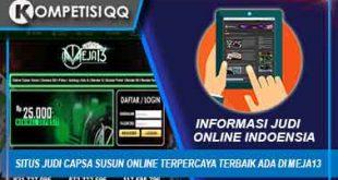 Situs Judi Capsa Susun Online Terpercaya Terbaik Ada Di Meja13