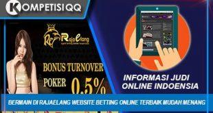 Bermain Di Rajaelang Website Betting Online Terbaik Mudah Menang