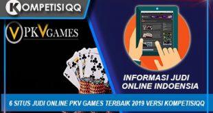 6 Situs Judi Online Pkv Games Terbaik 2019 Versi Kompetisiqq