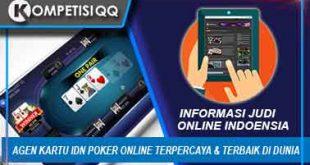 Agen Kartu IDN Poker Online Terpercaya & Terbaik Di Dunia