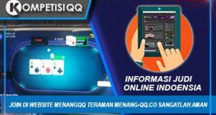 Join di Website MenangQQ Teraman Menang-qq.co Sangatlah Aman