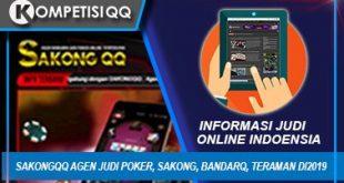 Sakongqq Agen Judi Poker, Sakong, Bandarq, Teraman di2019