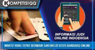 Waktu Yang Tepat Bermain Sakong Di Situs BandarQ Online