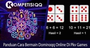 Panduan Cara Bermain Dominoqq Online Di Pkv Games
